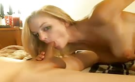 Blonde Takes Quite a Long Dick