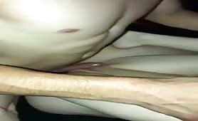 My wife thrusting her hips so hotly with new guy