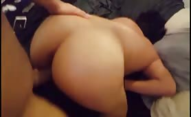 Submissive Chick Puts Her Ass up