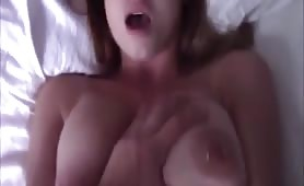 Big Boobed Gal Fucked Missionary