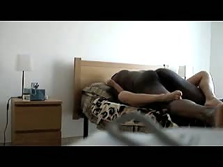 Amateur lady from Moscow fucked from black guy