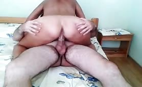 Horny Slut Shared by Two Guys