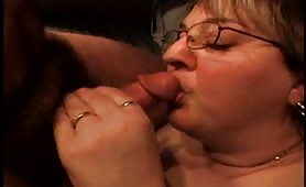 Soft Mouth Fuck for Bespectacled Mature
