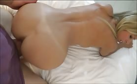 Blonde Bombshell Creampied Against Her Will