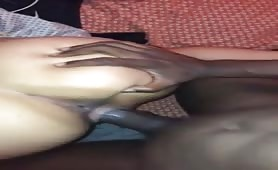 Squirting girl horny for black cock