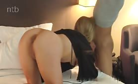 Cougar Seduces a Young Stud at a Hotel