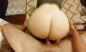 Flabby Ass Bouncing When Drilled From Behind